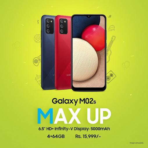مواصفات وسعر هاتف Galaxy M02s من سامسونج 2021