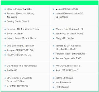 harga samsung s7 edge terbaru 2016