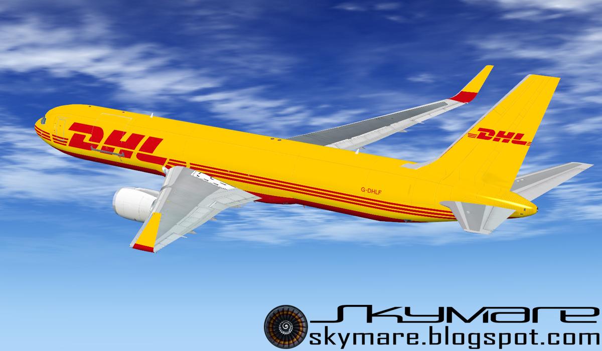 Skymare's Hangar: Level-D 767 repaints for FSX