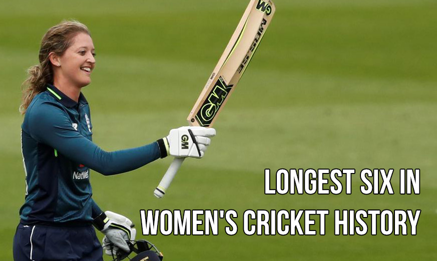 Longest Six in Women's Cricket History - women cricket records