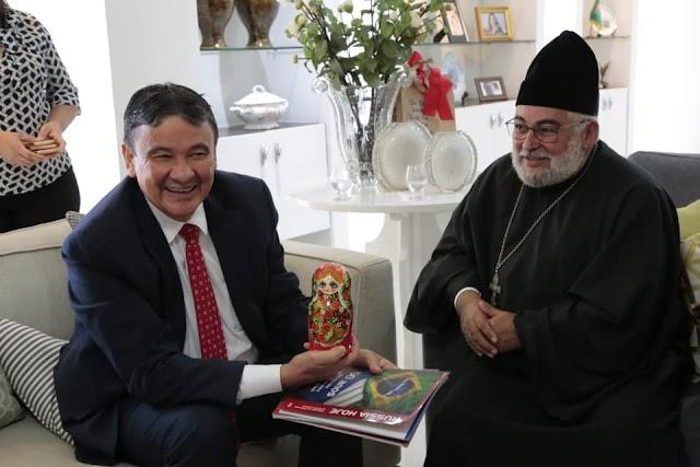 Governador trata de projetos com Embaixadas da Rússia, Belarus e Tailândia
