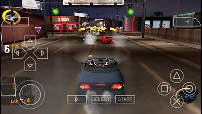 تحميل لعبة Street Riders لأجهزة psp ومحاكي ppsspp