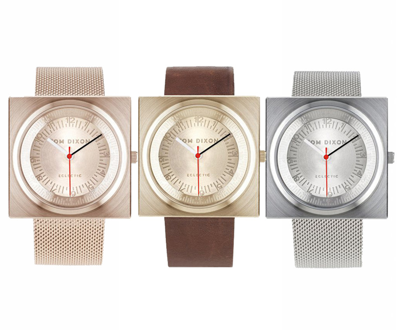 Block Watches by Tom Dixon
