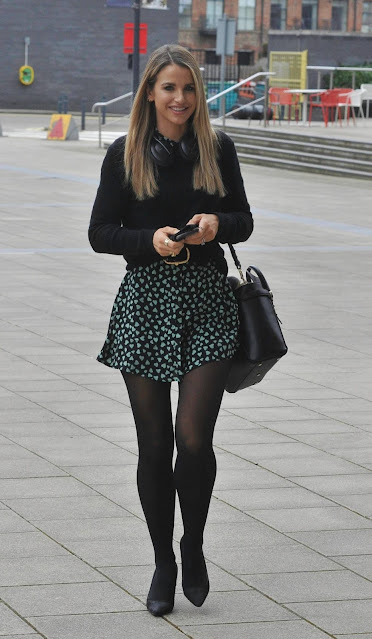 Vogue Williams – arrives at Steph's Pack Lunch in Leeds
