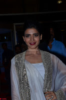 Samantha Ruth Prabhu cute in Lace Border Anarkali Dress with Koti at 64th Jio Filmfare Awards South ~  Exclusive 028.JPG