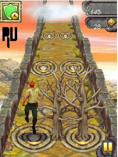 Download and play Temple run 2 on Java Keypad and touchscreen mobiles