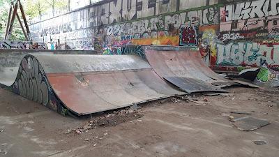 Travaux skate park Bercy 2020