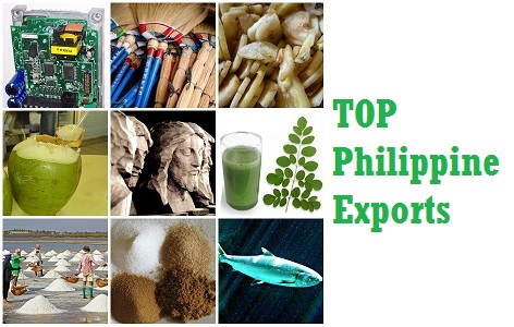 What does Philippines Exports the Most?