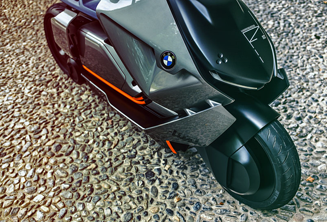 2017 BMW Motorrad Concept Link Electric Scooter