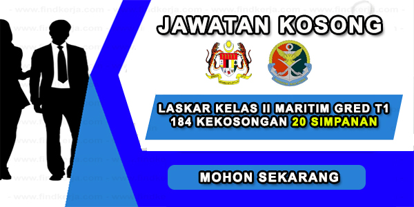 Hebahan Umum! Jawatan Kosong Agensi Penguatkuasaan Maritim Malaysia