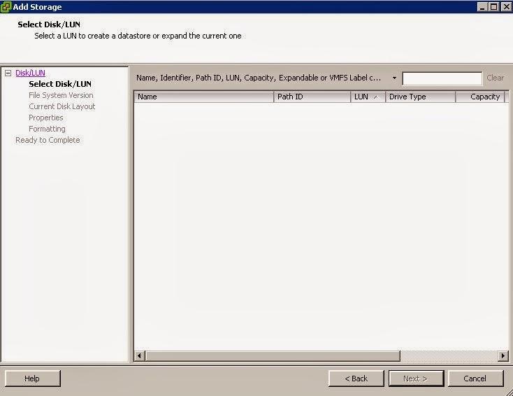 NetApp 8 2 Simulation : Part 5 Add an iSCSI LUN from NetApp