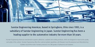 Sunstar engineering americas inc Sunstar springboro