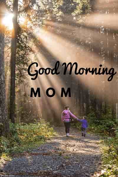 good morning my lovely mother