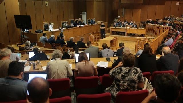 Δίκη Χρυσής Αυγής: Κανένα ελαφρυντικό στους 7 για διεύθυνση εγκληματικής οργάνωσης