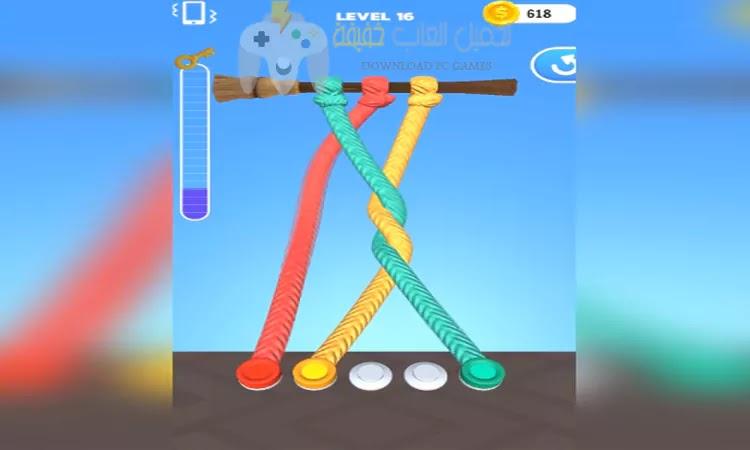 تحميل لعبة Tangle Master 3D للكمبيوتر برابط مباشر