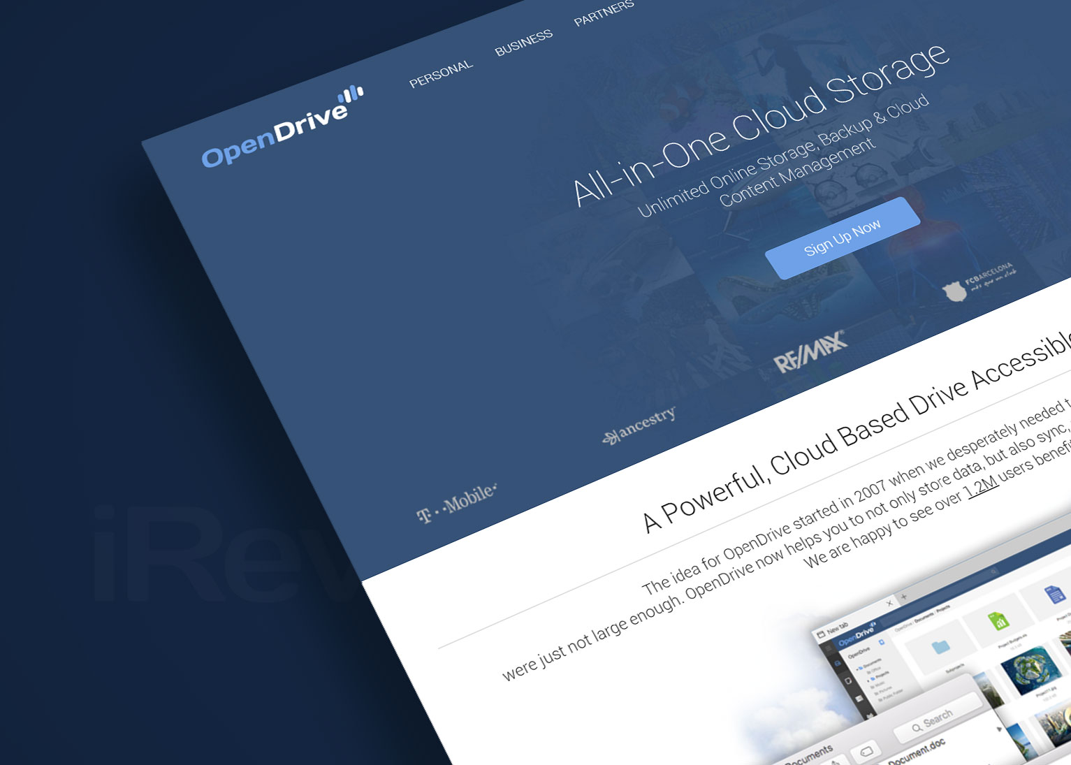 opendrive cloud storage