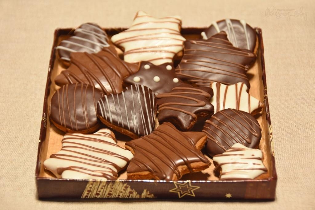 Lebkuchen II - z czekoladową polewą i nadziewane.