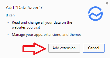 instal ekstensi chrome data saver