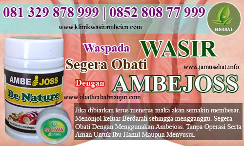 obat wasir cara alami