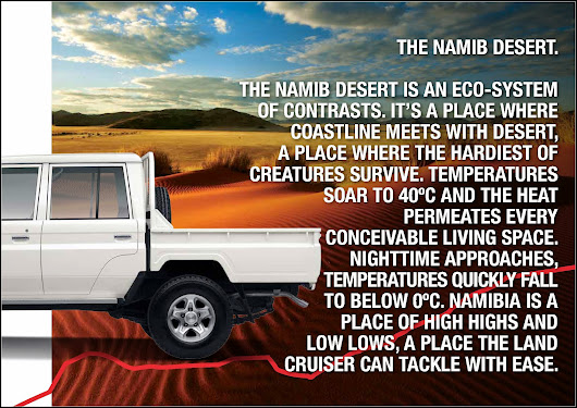 Toyota Land Cruiser 70 Series At Namib Desert - Details ~ Gulshan-e-Hadeed Karachi Pakistan