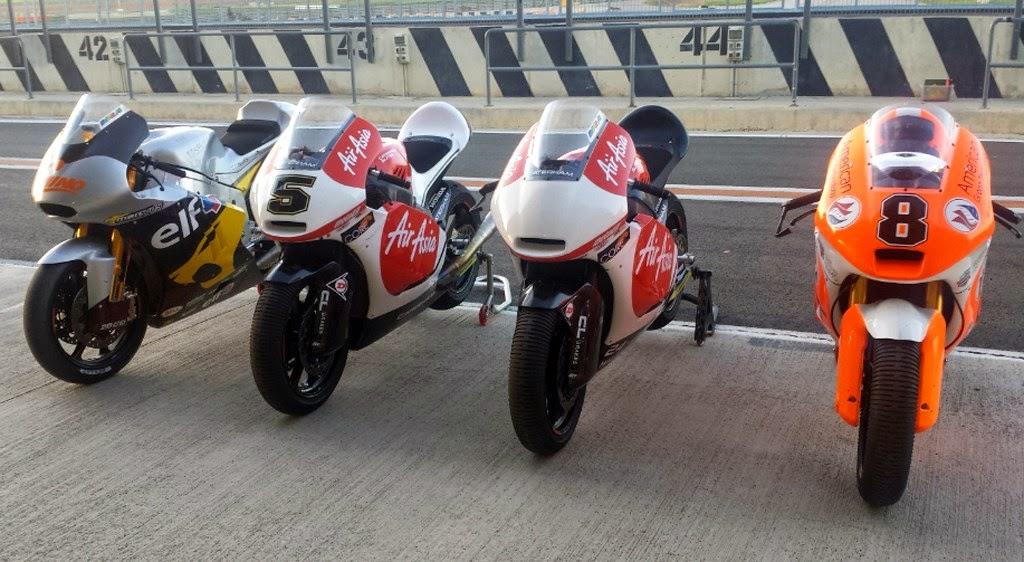 Motor Moto2 Dijual