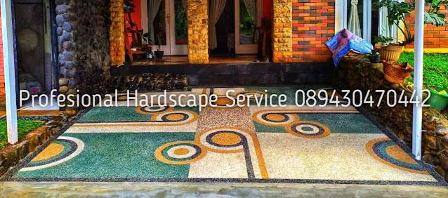 Jasa Tukang Batu Sikat Terbaik | Harga Pemasangan Lantai Carport, Batu Sikat Bergaransi
