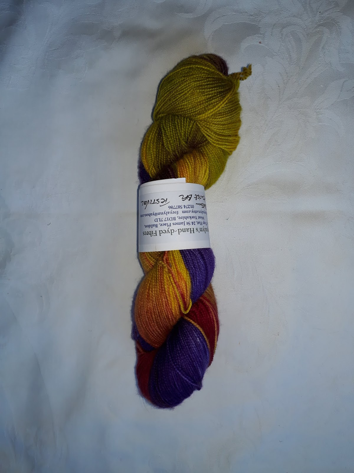 Misty Morning on BFL and Silk