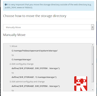opencart manually move