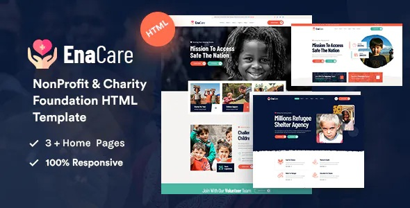 Best NonProfit & Charity Foundation HTML5 Template