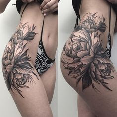 10 Super Cool Under Butt Tattoos For Women