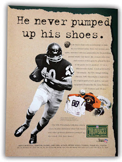 NFL Throwbacks Collection Ad #1