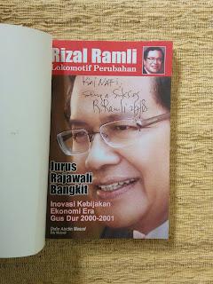 Rizal Ramli Lokomotif Perubahan Jurus Rajawali Bangkit