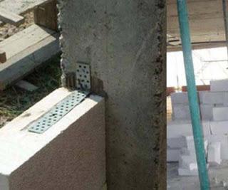 Ứng dụng bát neo tường vào cột