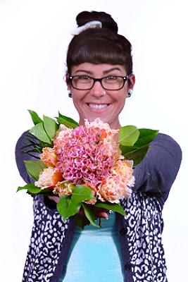 perfect millennial pink flowers
