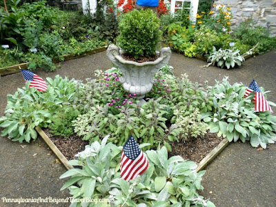 Lititz Historical Foundation Museum Gardens in Pennsylvania