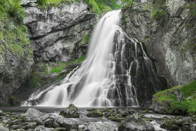Cascadas Gollinger en Austria