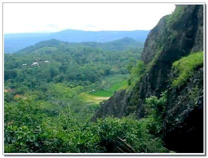 Lokasi Gunung Api Purbo Jogja