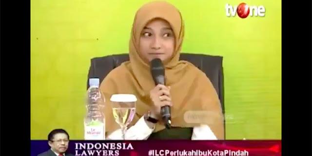 Di Tengah Penolakan Presiden 3 Periode, Video Sherly Annavita Sebut Pindah Ibukota Tanda Jokowi Konfirmasi Kegagalan Muncul Lagi