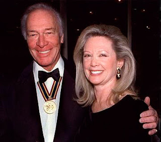 Christopher Plummer and wife