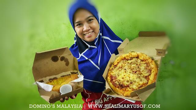 Makan Malam Bersama Pilihan Set Combo Domino's Pizza Malaysia