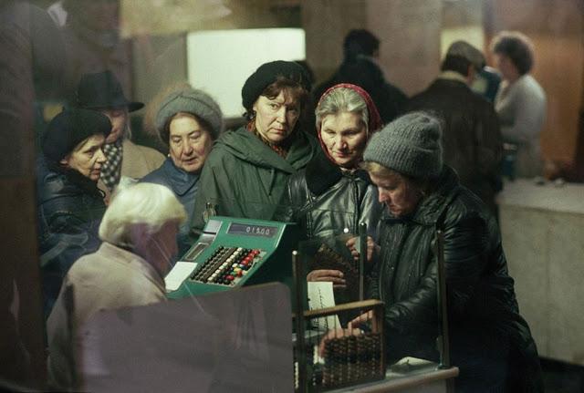 Fotografías de la vida en Rusia en los últimos años de la URSS