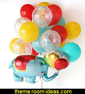 elephant Confetti Balloon Kids Birthday Party