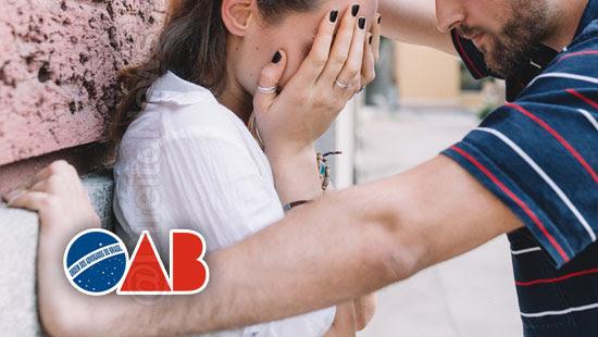 oab primeiro registro bacharel violencia domestica