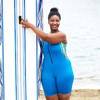 Plus Size Swimsuit Aquatard