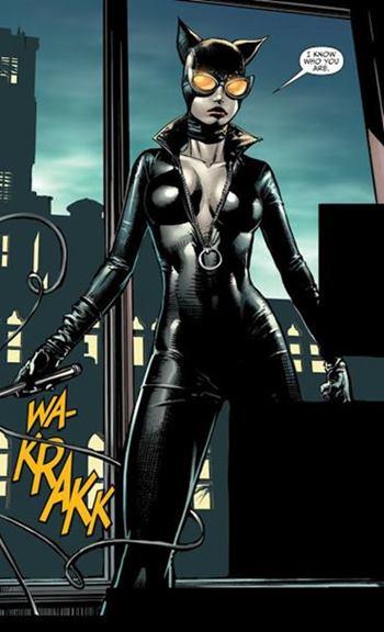 Catwoman se casó con Batman