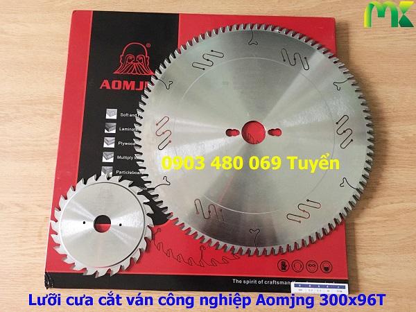 Lưỡi cưa cắt ván công nghiệp Aomjng 300x96T