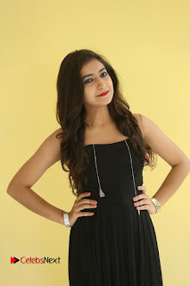 Alisha in Black Transparent Dress Sexy Skin Show Hot Small Cleavages