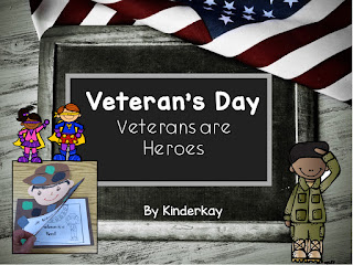 https://www.teacherspayteachers.com/Product/Veterans-Day-Veterans-are-Heroes-950920