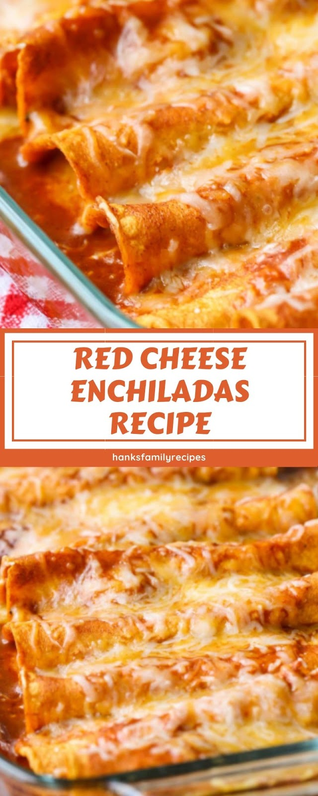 RED CHEESE ENCHILADAS RECIPE