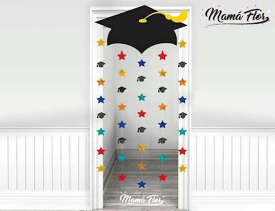 Decoración de Graduación para la Puerta de la casa